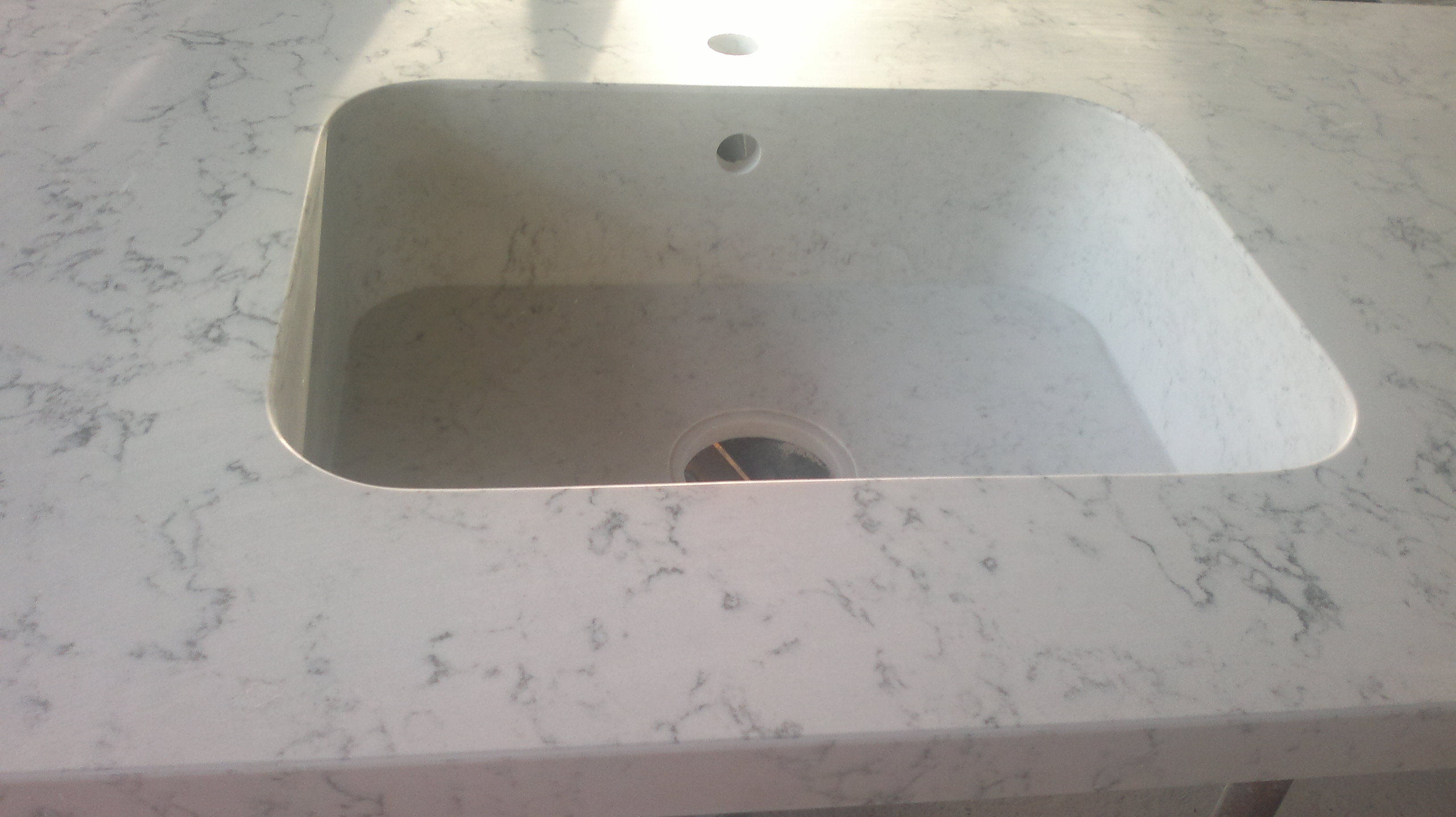 Pica silestone integrada
