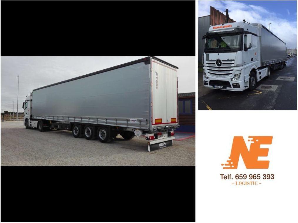 NE Logistic - Camiones para transporte de mercancías por carretera