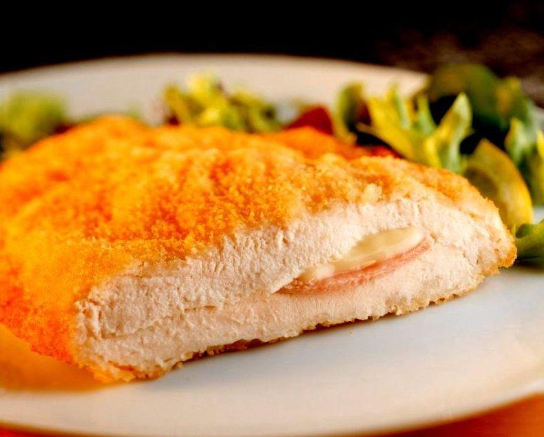 Pechuga natural empanada -  Cordon Bleu 190g