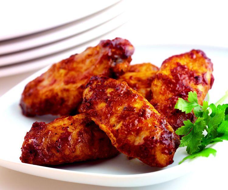 Alas de pollo precocinadas
