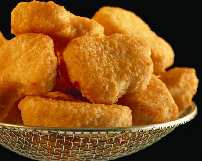 Nuggets de pollo rebozado Halal