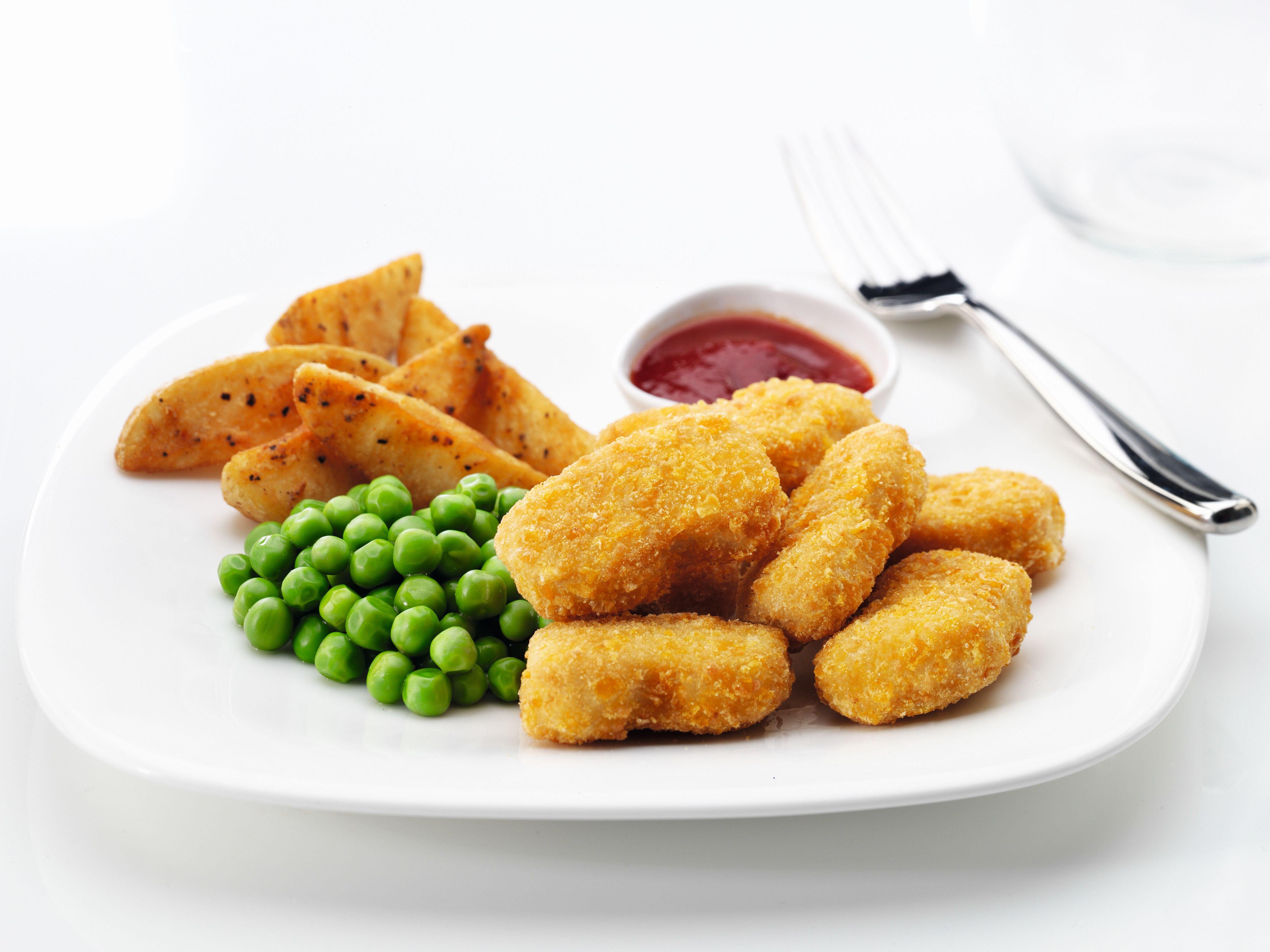 Nuggets de pollo certificado Halal