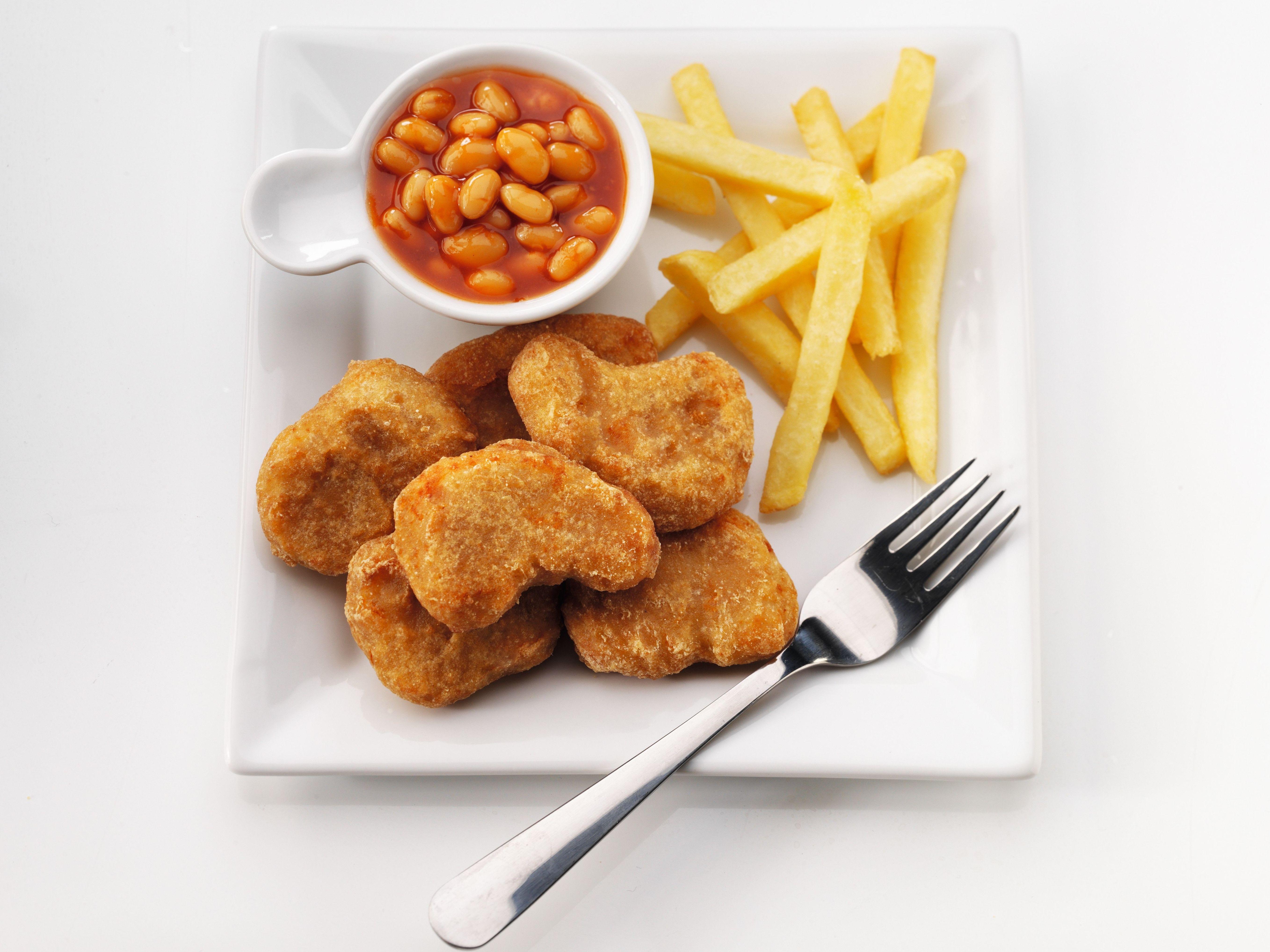 Nuggets de pollo rebozado serie lujo