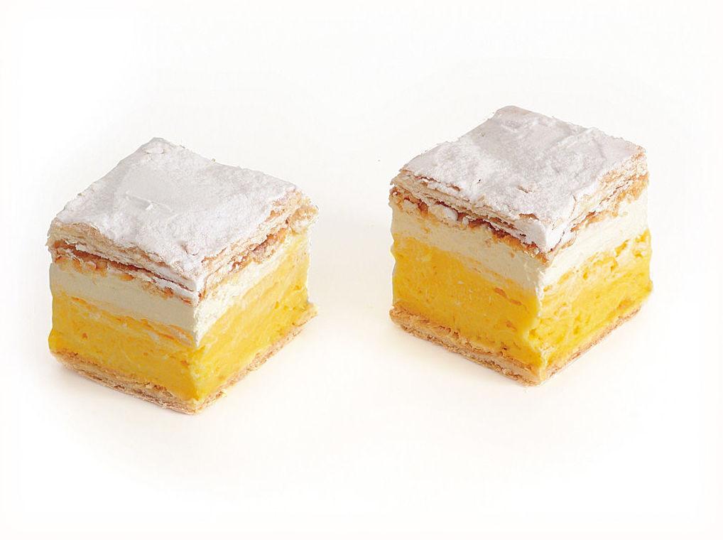 torta de crema de vainilla 2 x 150g