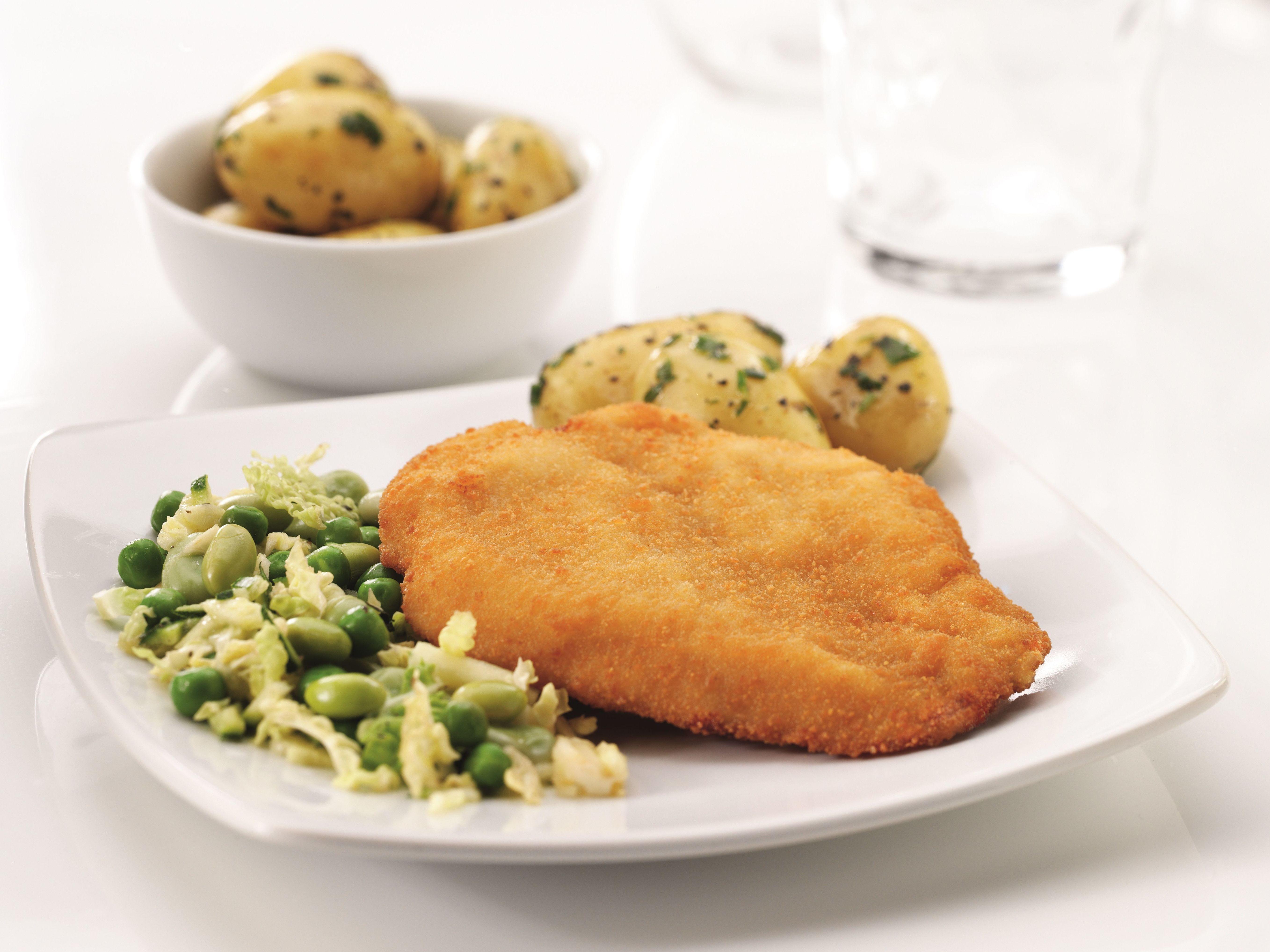 Pechuga de pollo natural y empanado: Productos de Riverside