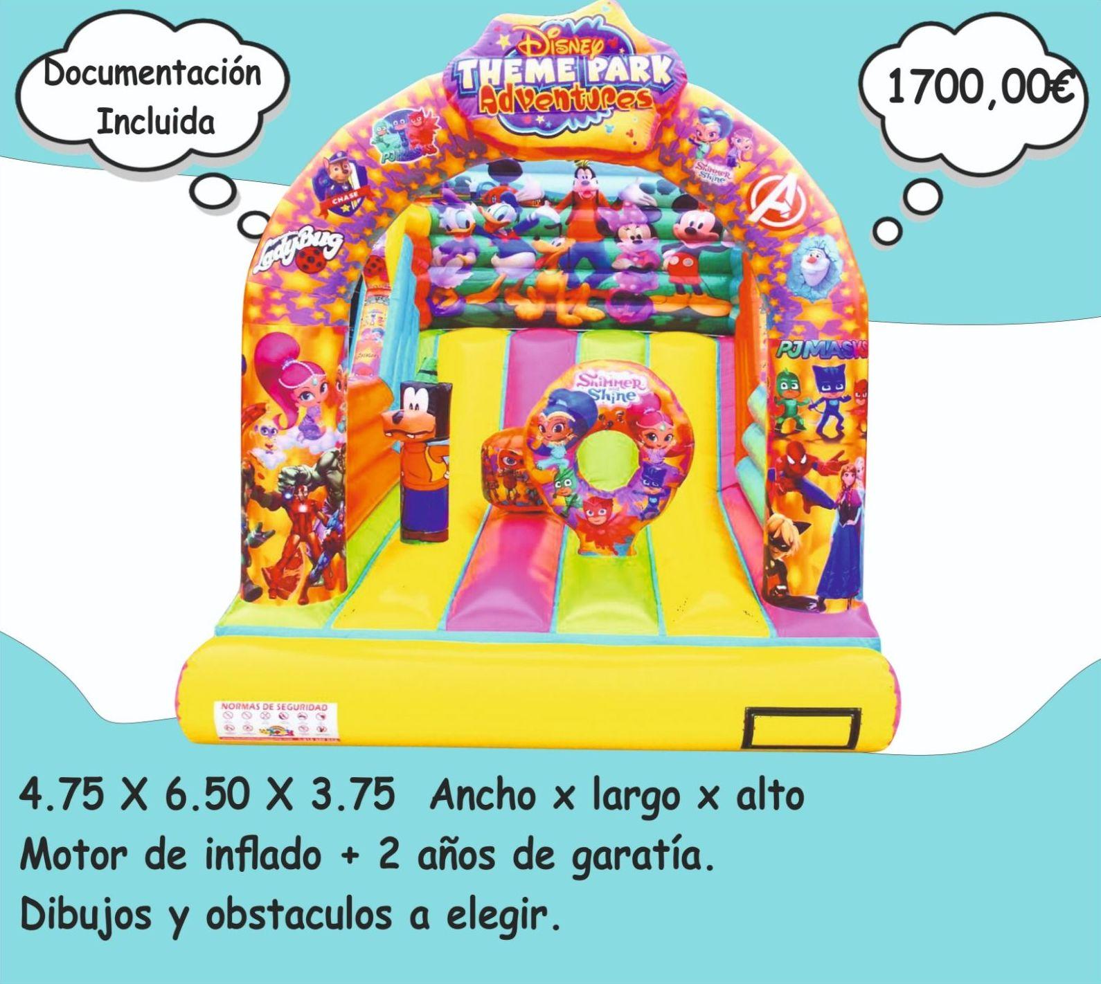 Foto 6 de Hinchables en Jerez de la Frontera | Hinchables Happy Jump