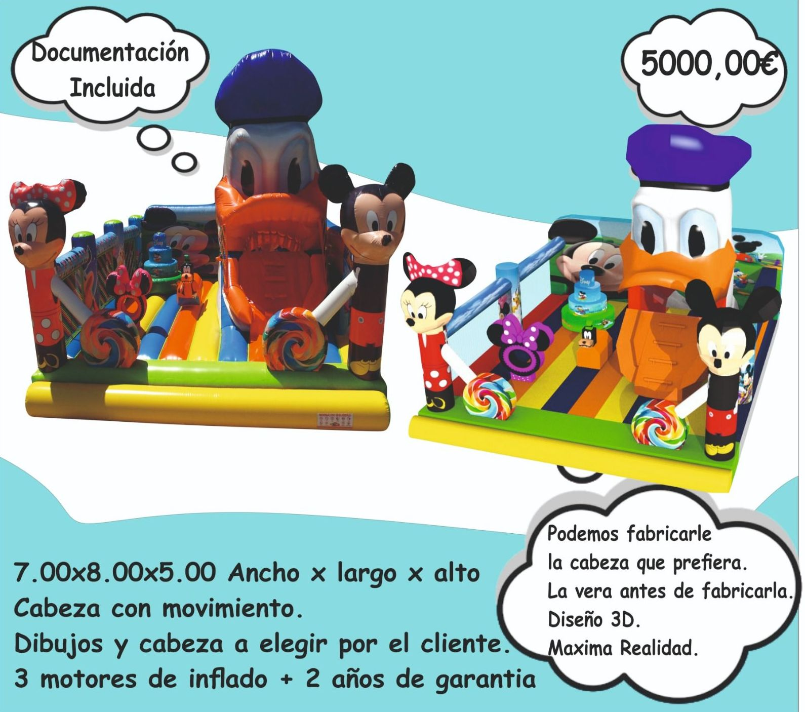 Foto 8 de Hinchables en Jerez de la Frontera | Hinchables Happy Jump