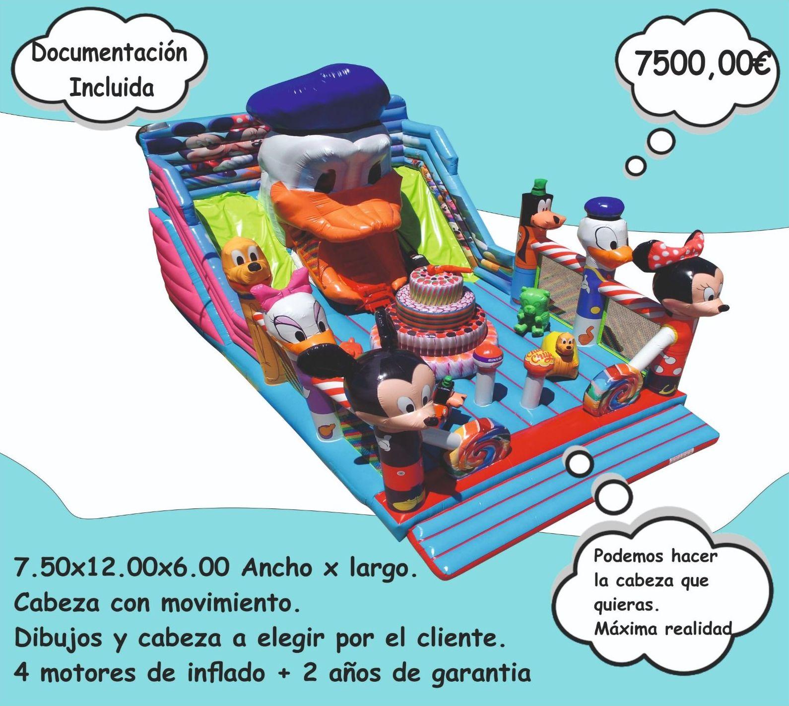 Foto 2 de Hinchables en Jerez de la Frontera | Hinchables Happy Jump
