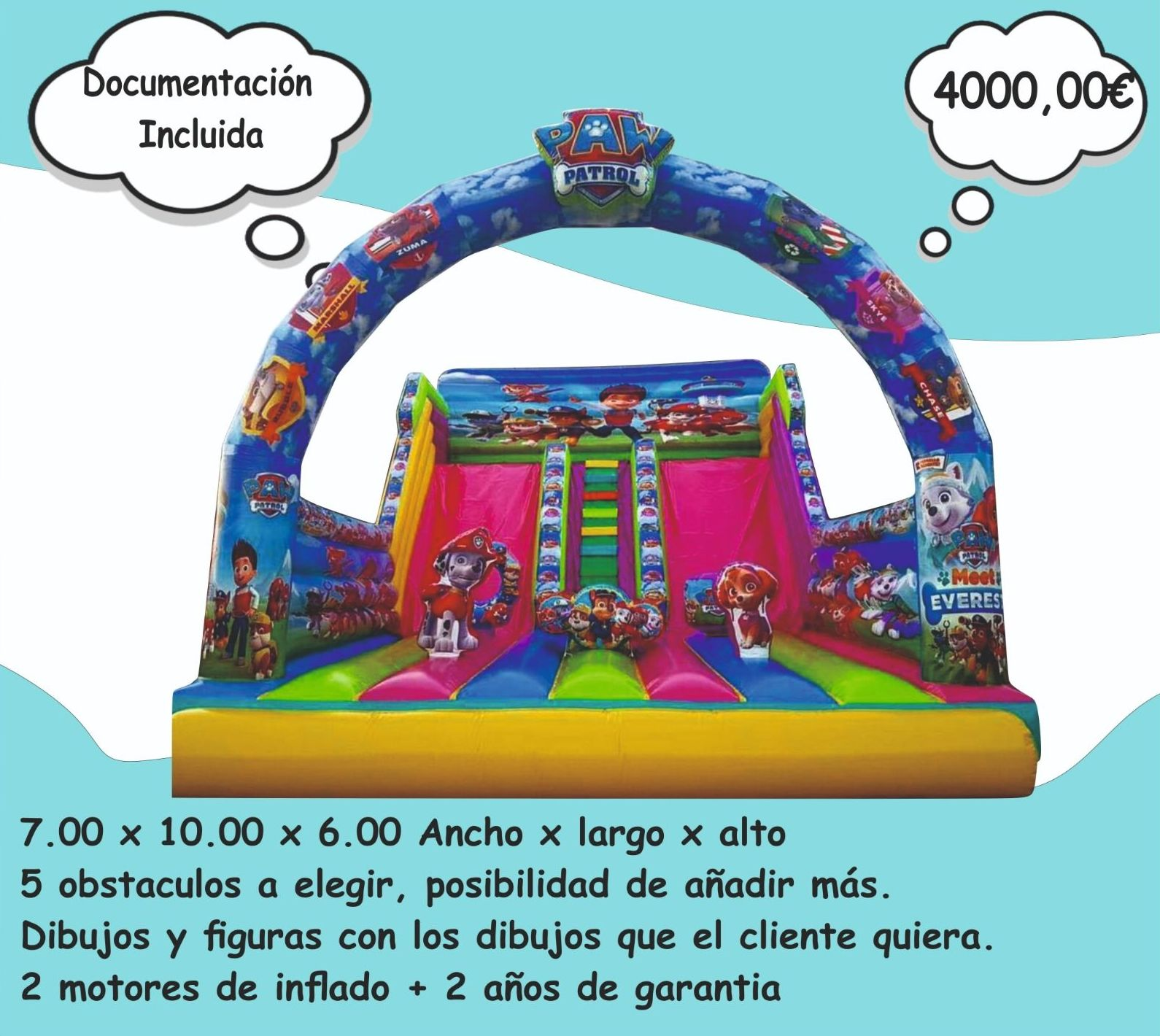 Foto 10 de Hinchables en Jerez de la Frontera | Hinchables Happy Jump
