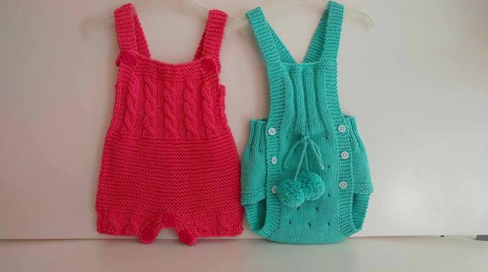 Ranitas para bebé hechas a mano en Valencia