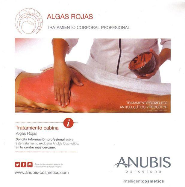 Tratamiento Anubis con algas rojas