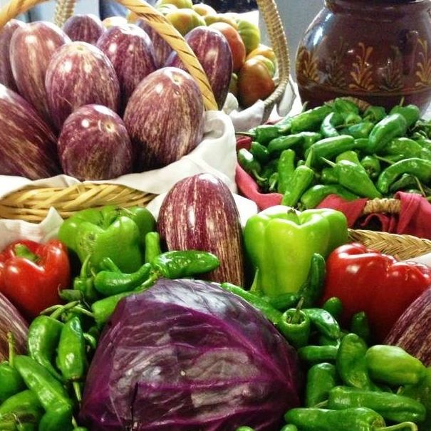 verduras de nuestra huerta