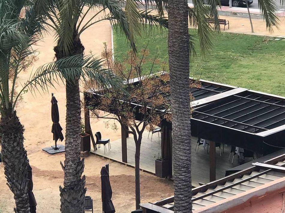 Terraza única en Murcia