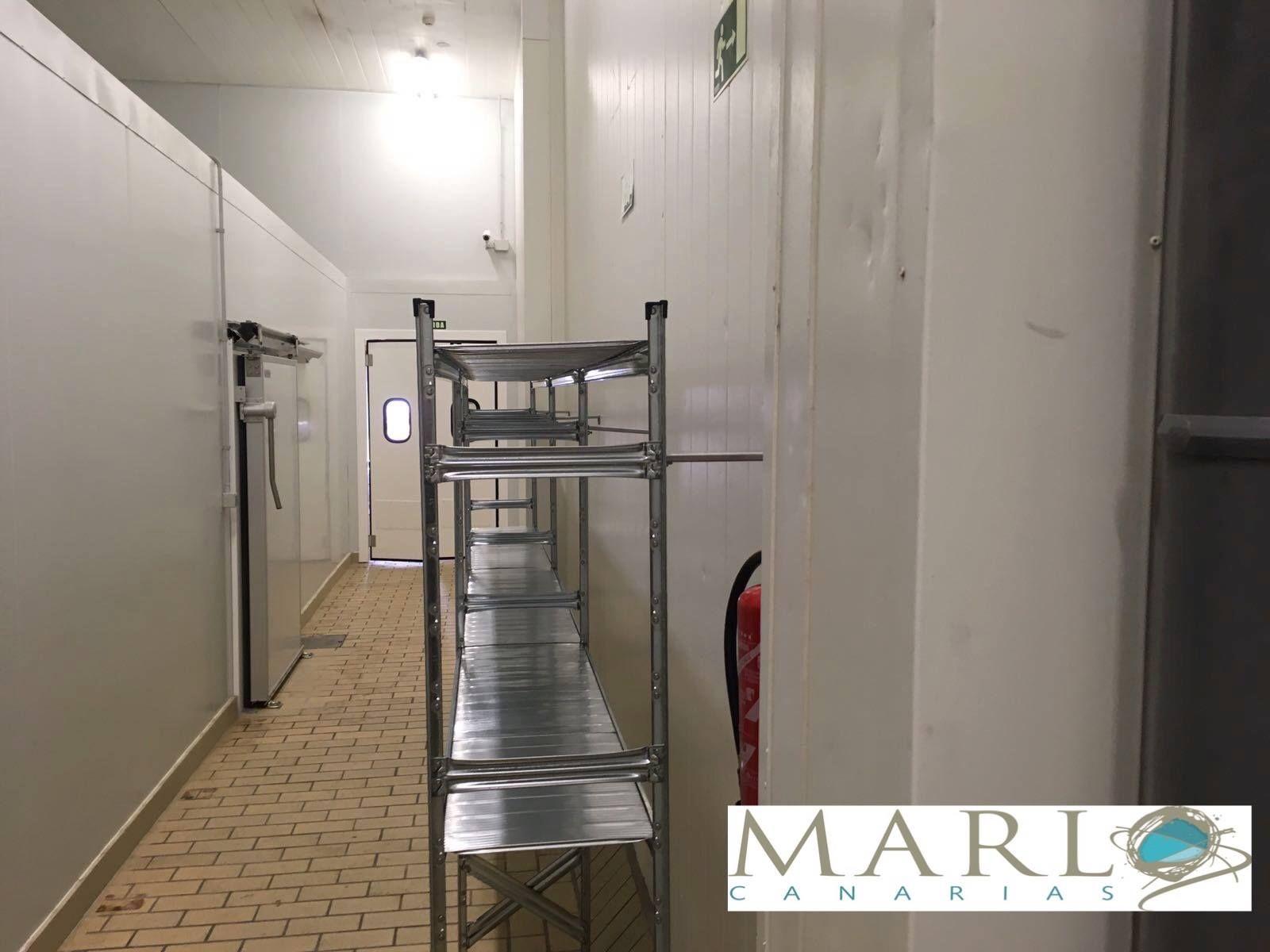 fabricación de estanterías metálicas en Gran Canaria