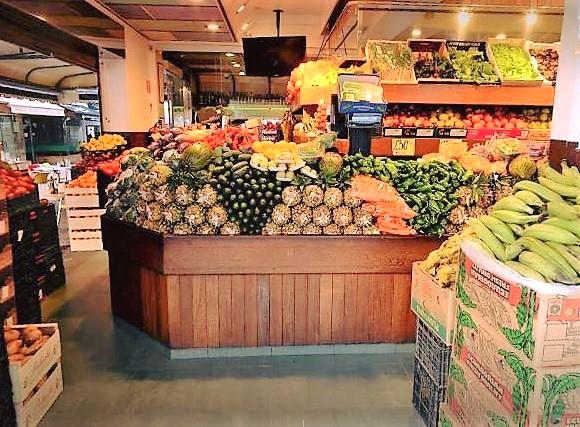 Fruta y verdura fresca