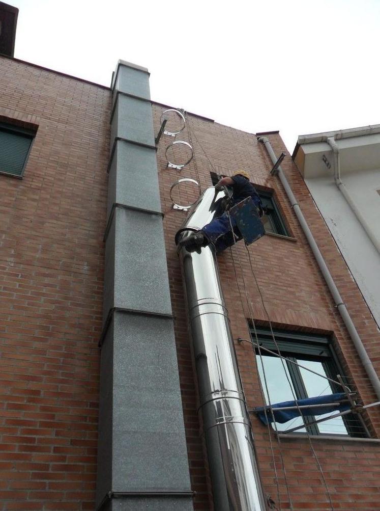 Trabajos verticales en Gijón