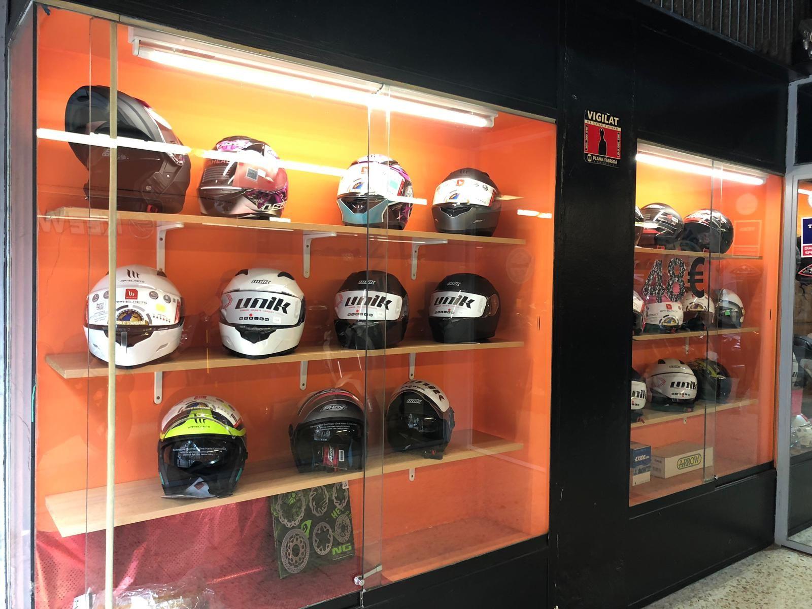 Accesorios de moto Lleida