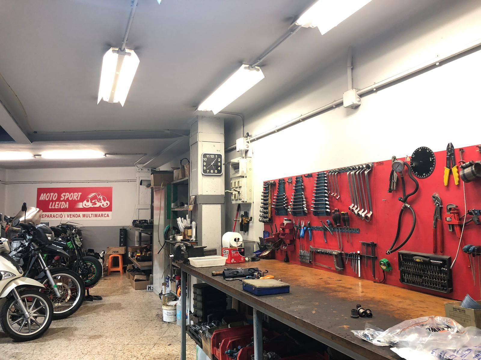Dónde reparar motos Lleida