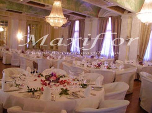 Arreglos florales para banquetes de bodas
