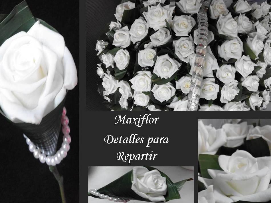 Detalles de la novia: Catálogo  de Floristería Maxiflor