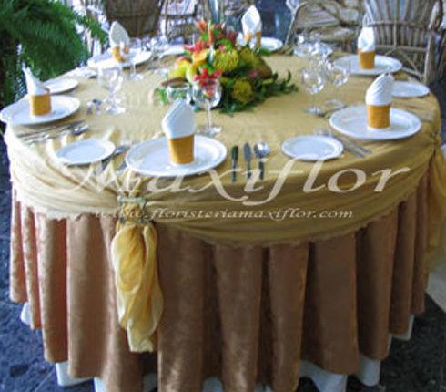 Decoración de banquetes en Tenerife