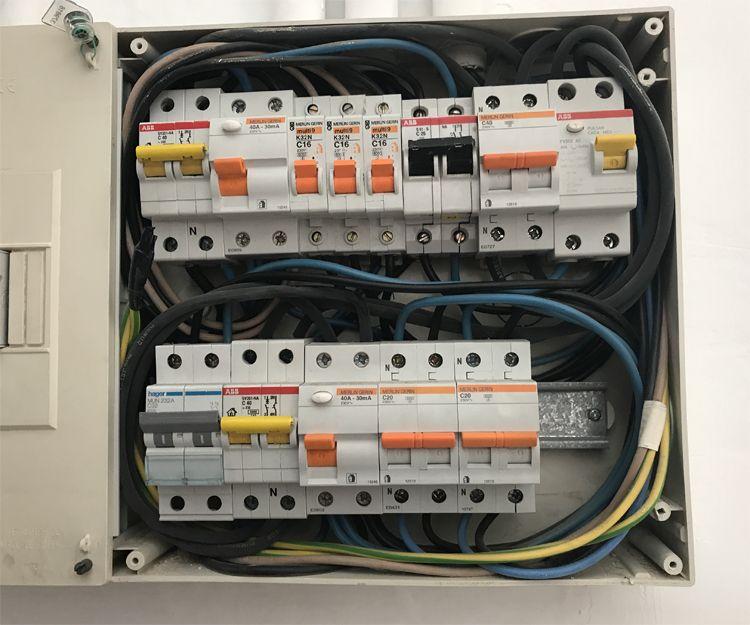 Cuadros eléctricos en viviendas
