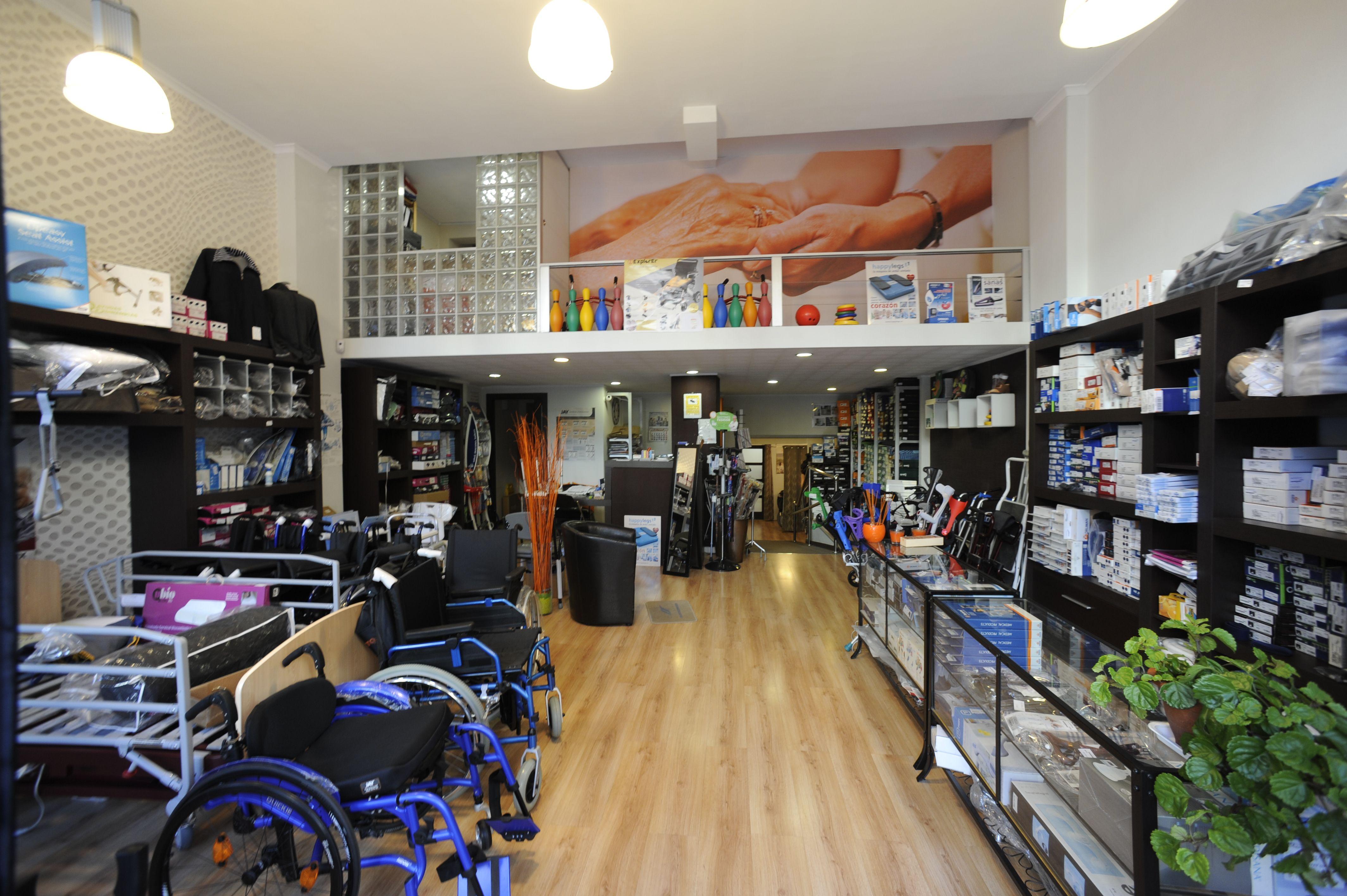 Interior Hobeto Bizi Ortopedia