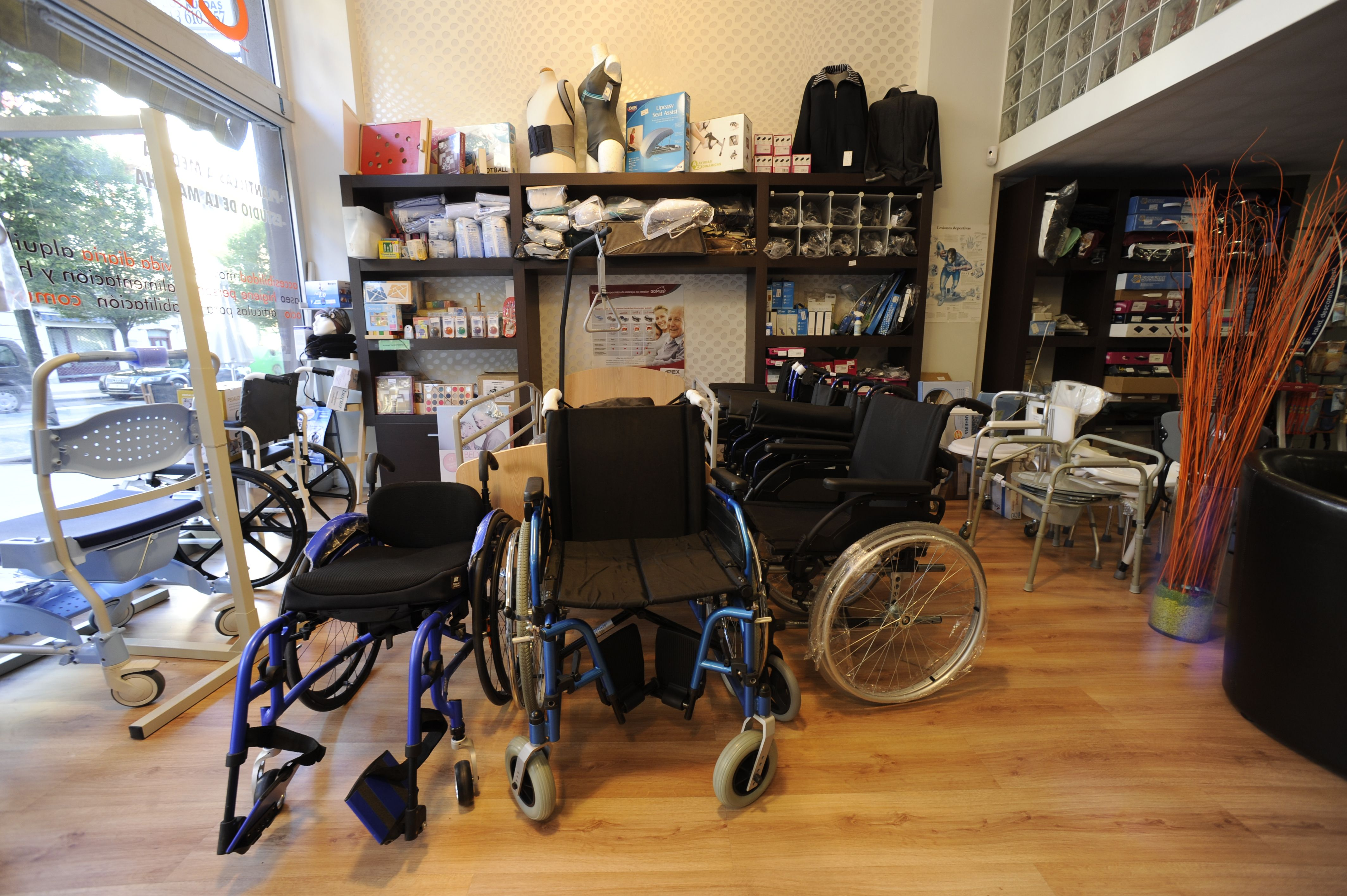 Zona sillas de ruedas Hobeto Bizi Ortopedia