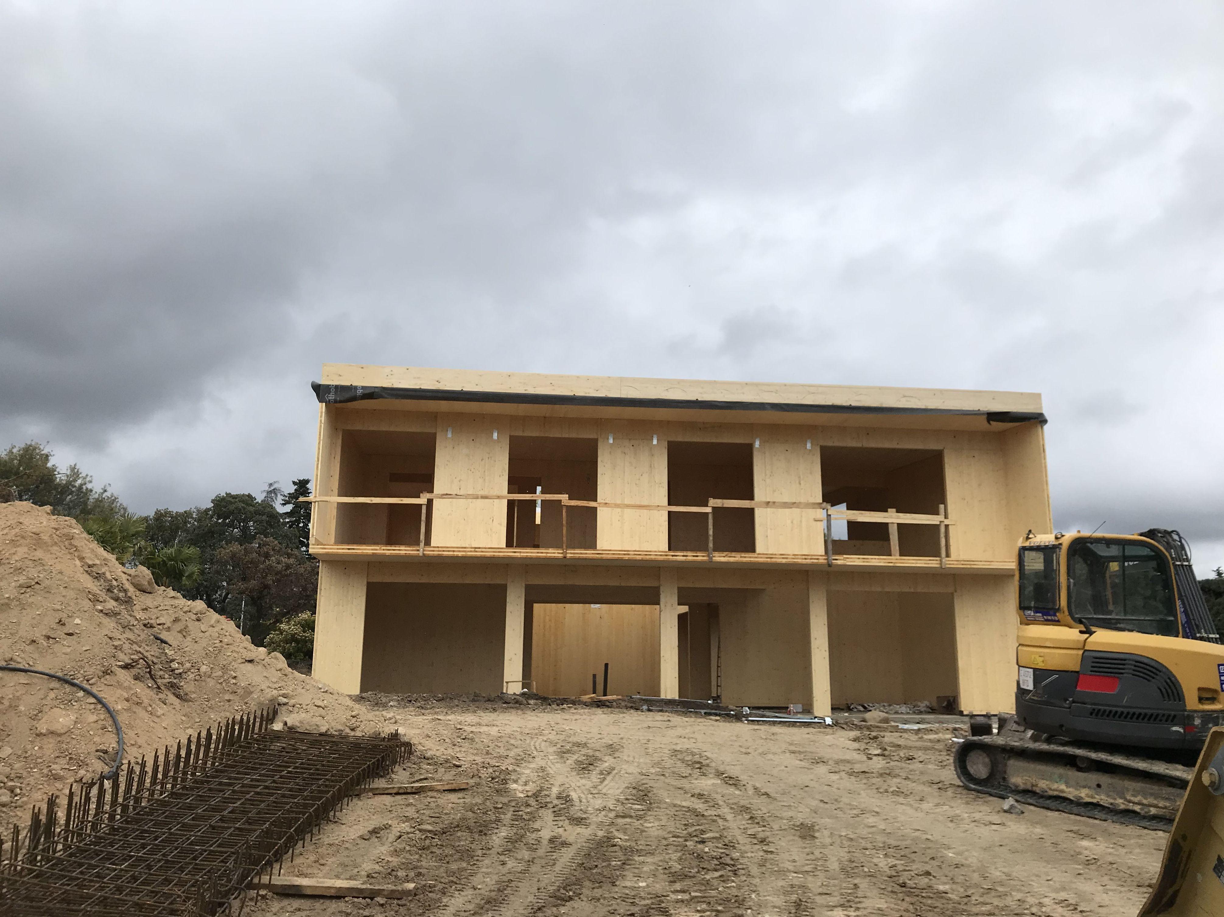 Casa de madera CLT