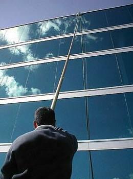 Limpieza de cristales de fachadas