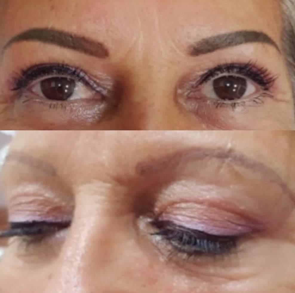 Micropigmentación de cejas. Resultado espectacular!