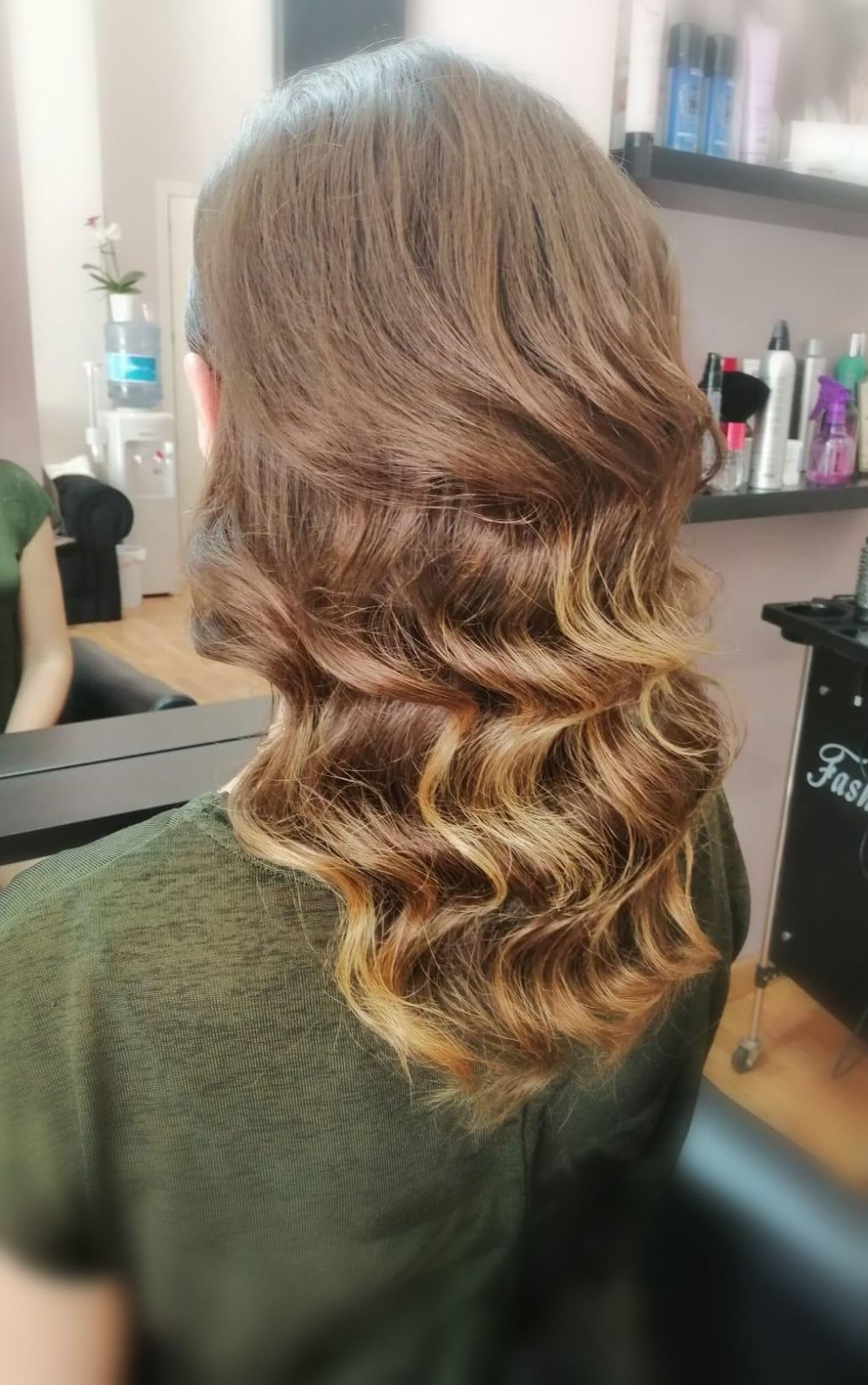 Peinados con ondas. Pregunta a tu estilista en Krystyna Karasenko
