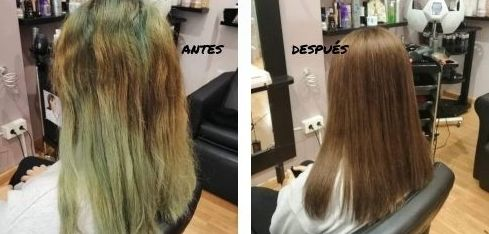 Estilistas de imagen. Antes y después del color. Pelazo!