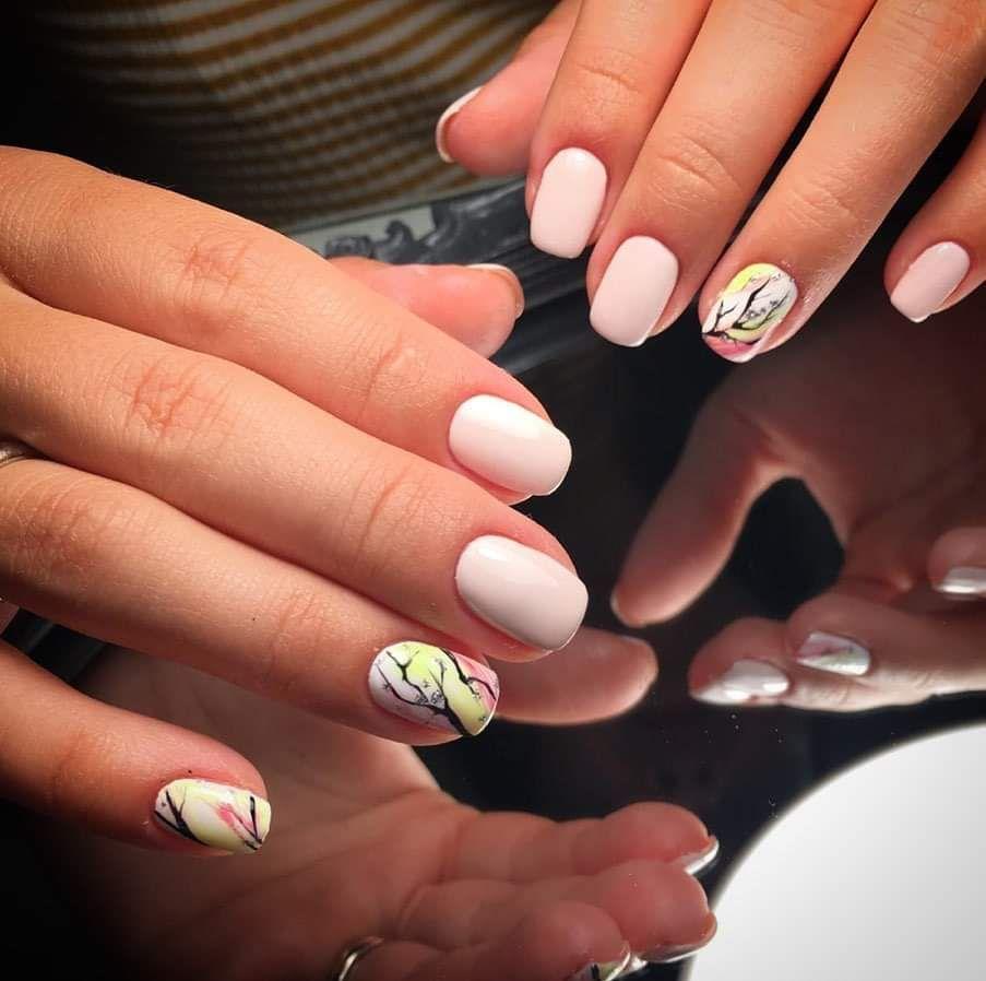 Esmaltado fantasía semi permanente. Tus uñas espectaculares más tiempo con Krystyna Karasenko