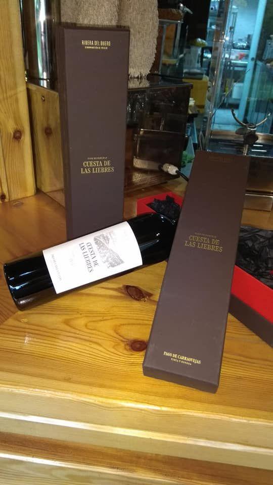 Carta de vinos y sidras en Madrid