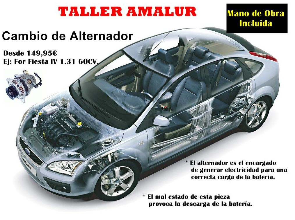 Foto 3 de Talleres de automóviles en Vitoria-Gasteiz | Talleres Amalur