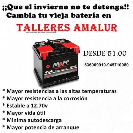 Foto 11 de Talleres de automóviles en Vitoria-Gasteiz | Talleres Amalur