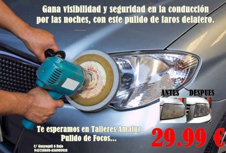 Foto 12 de Talleres de automóviles en Vitoria-Gasteiz | Talleres Amalur