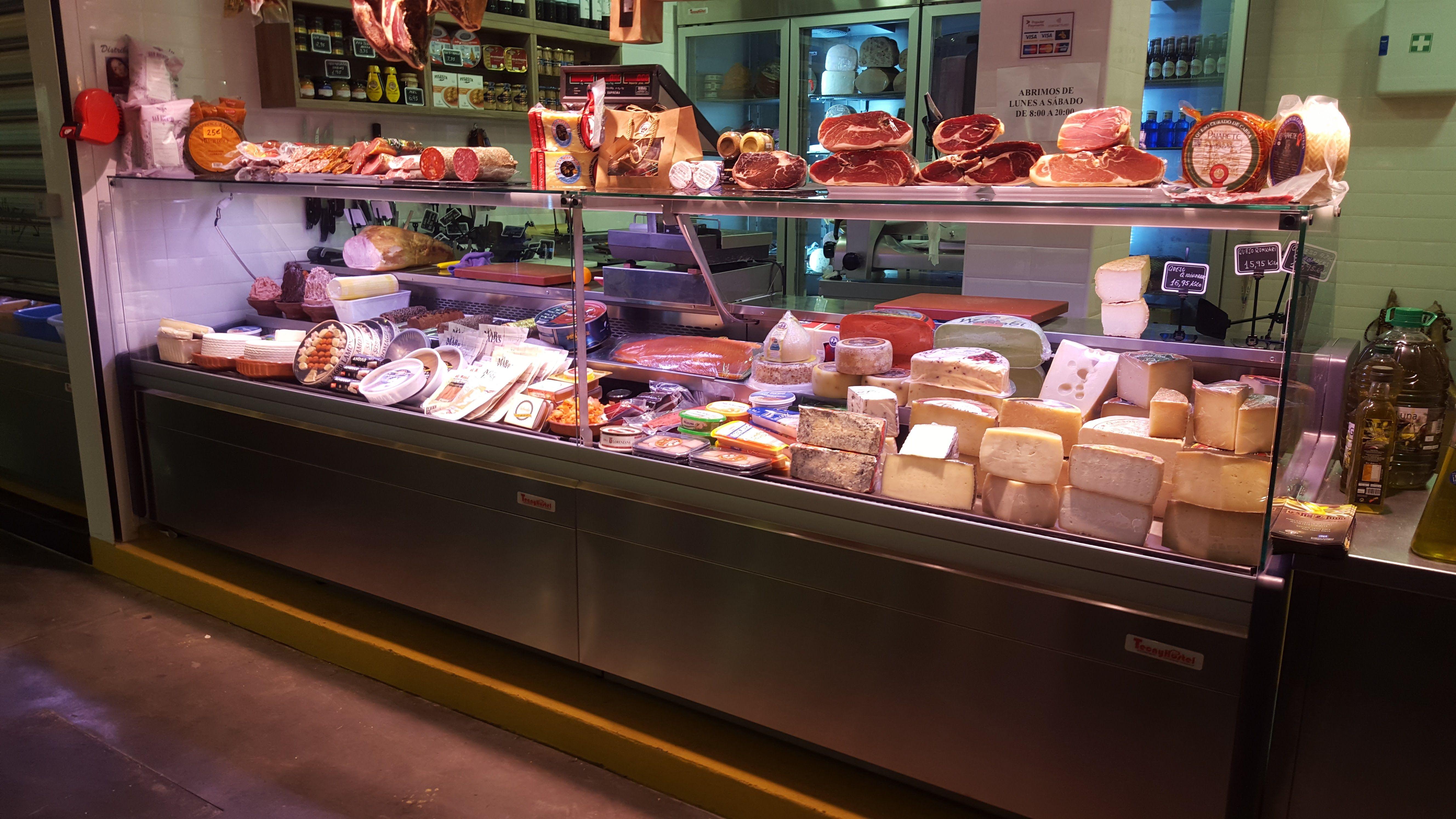 Quesos y productos ibéricos Málaga