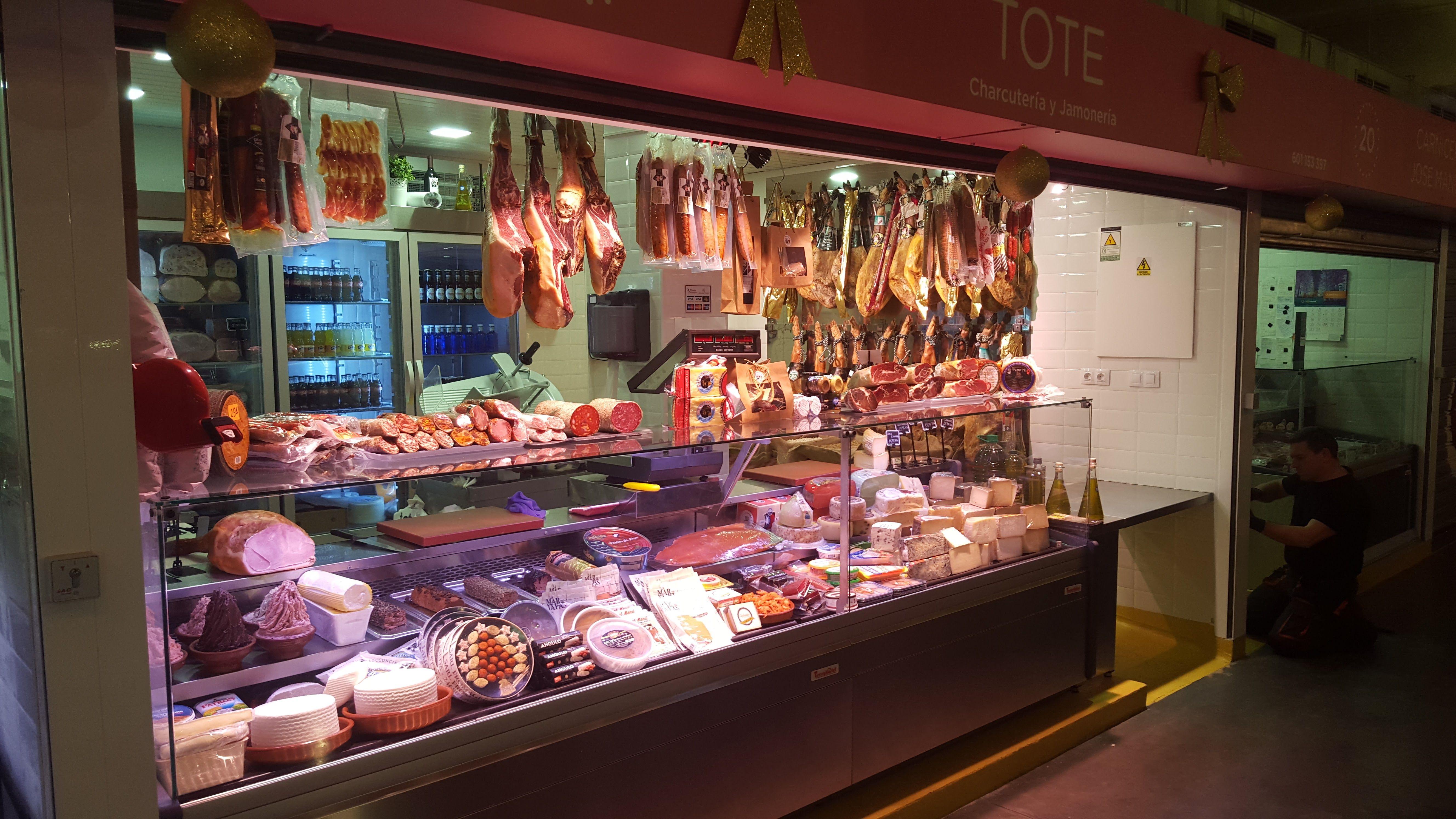 Productos ibéricos y quesos Málaga