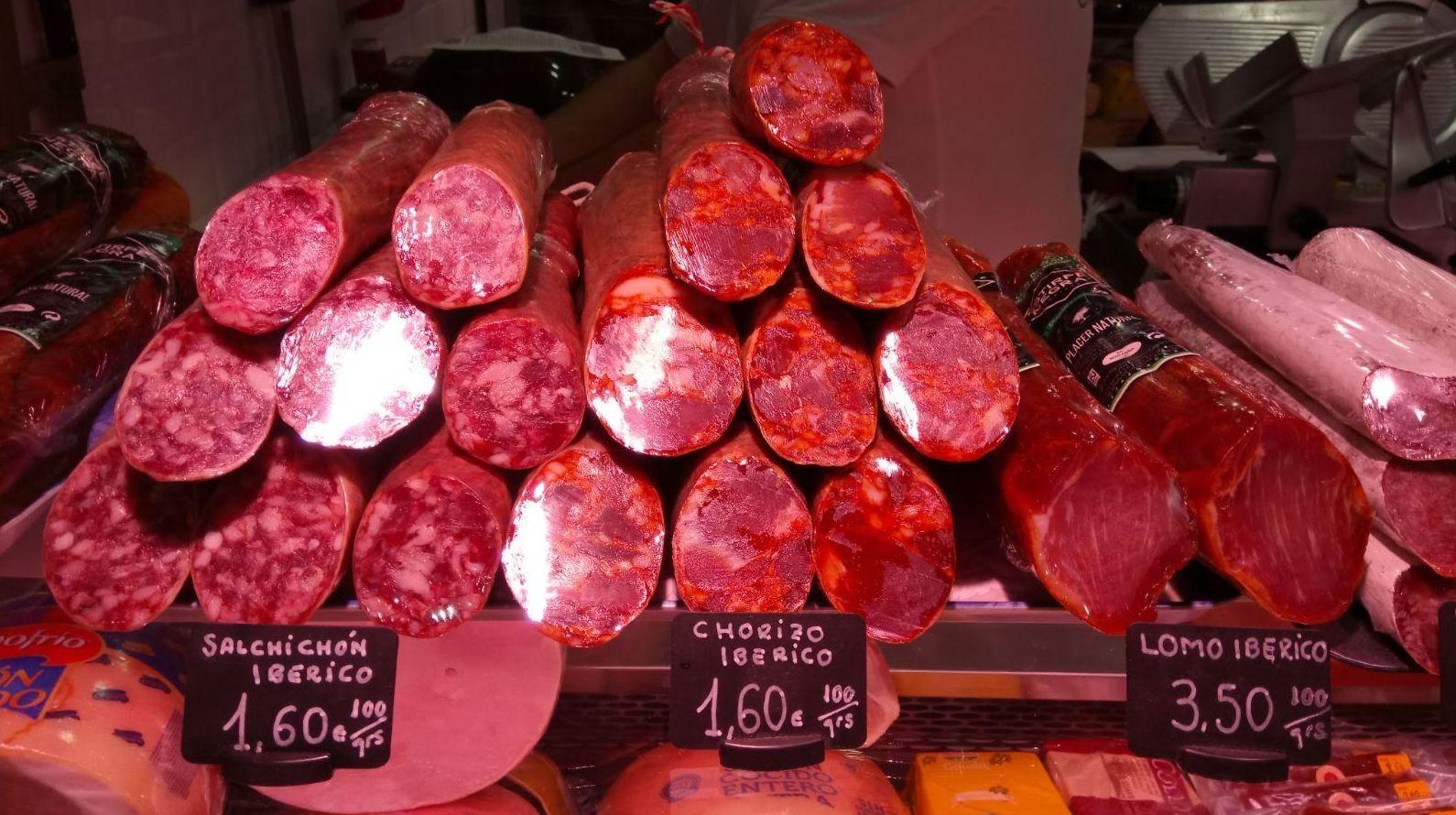 Embutidos ibéricos: Productos de Tote Chacinería Jamonería