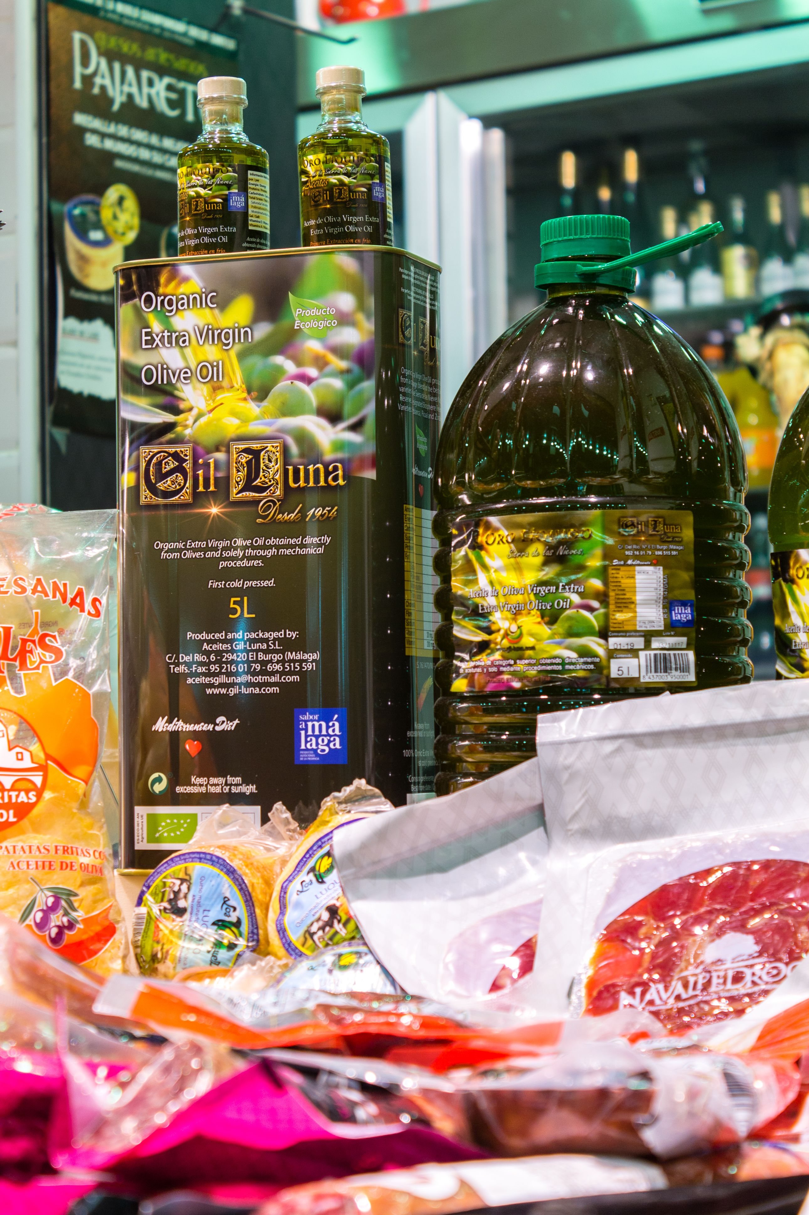 Aceite de oliva TOTE CHACINERÍA JAMONERÍA