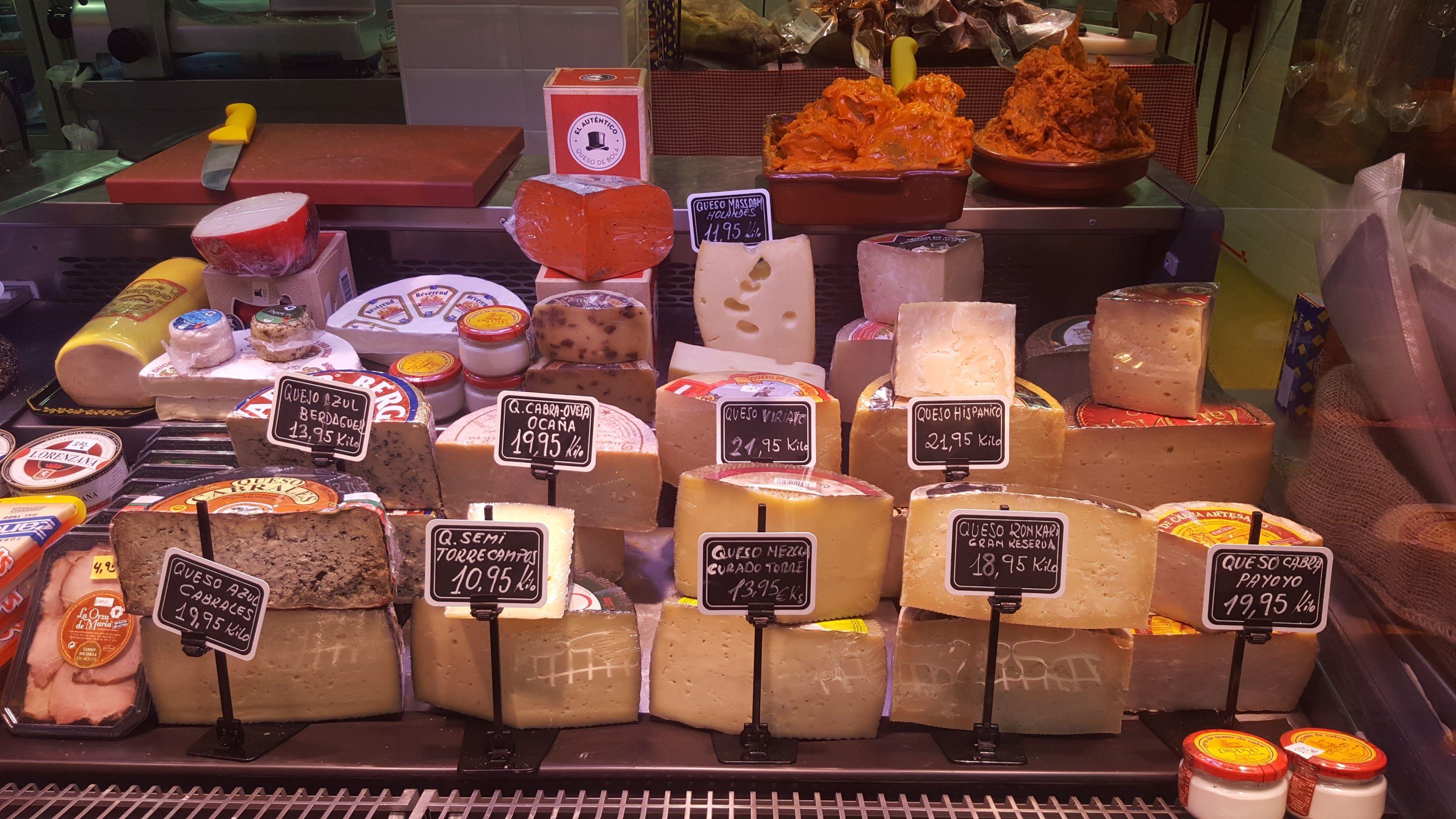 Tienda de quesos: Productos de Tote Chacinería Jamonería