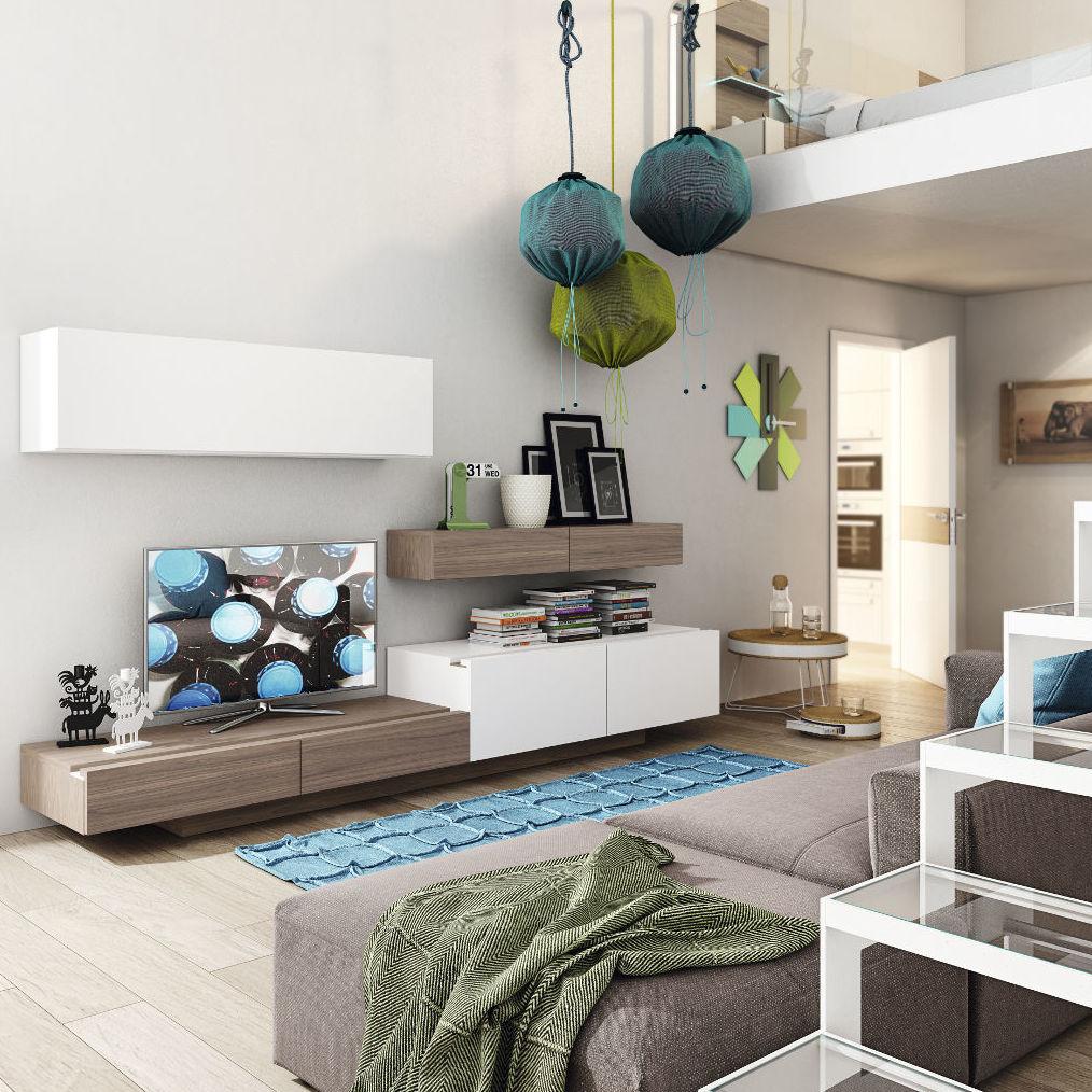Muebles modernos para salón