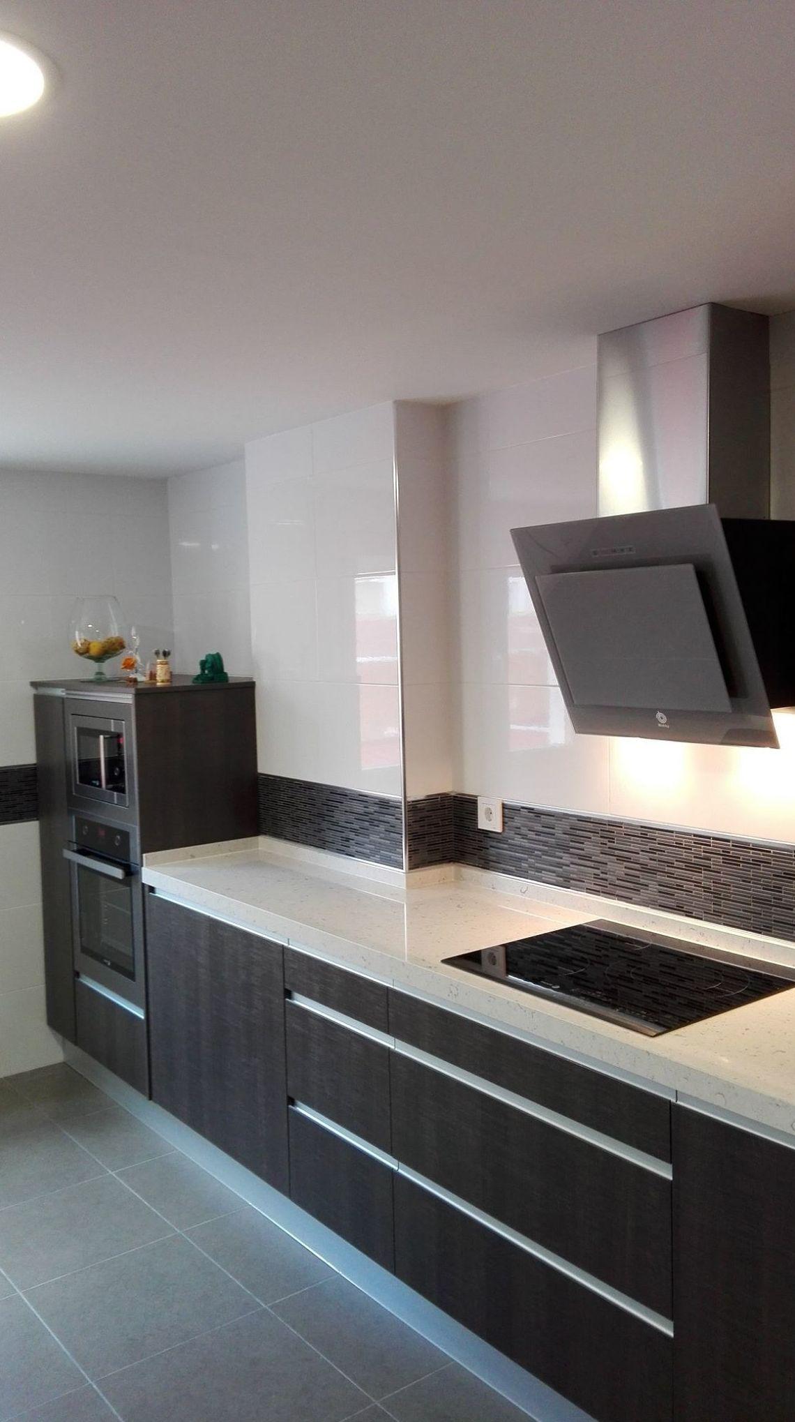 cocina para aprovechar el máximo espacio