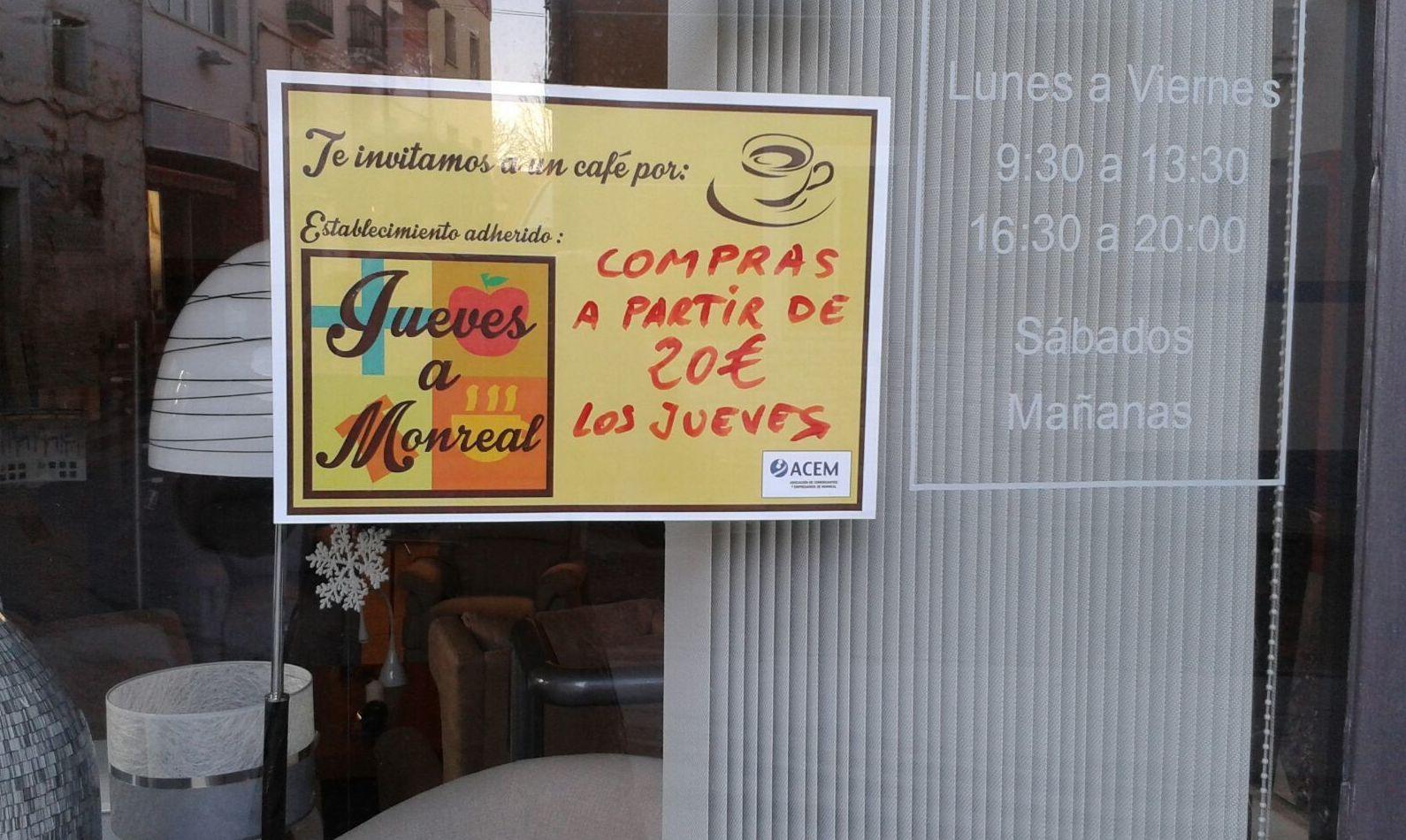 LOS JUEVES A MONREAL