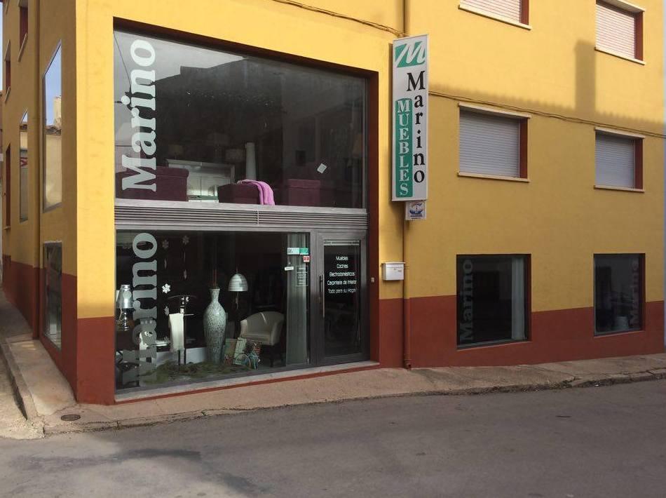 Vista exterior de nuestra tienda