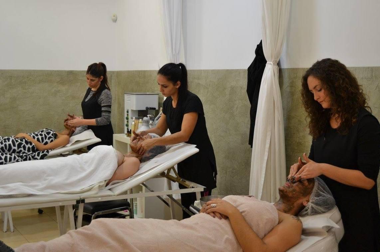 Prácticas de tratamientos faciales