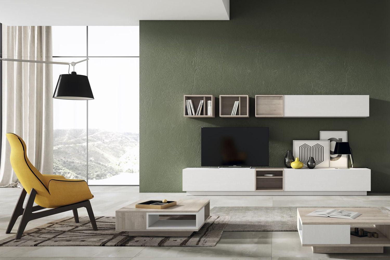 Muebles para salones con diferentes estilos