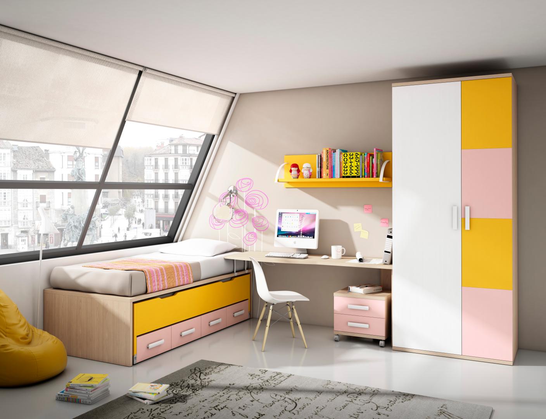 Dormitorios juveniles: Muebles y decoración de Muebles y decoración Francisco Ruiz